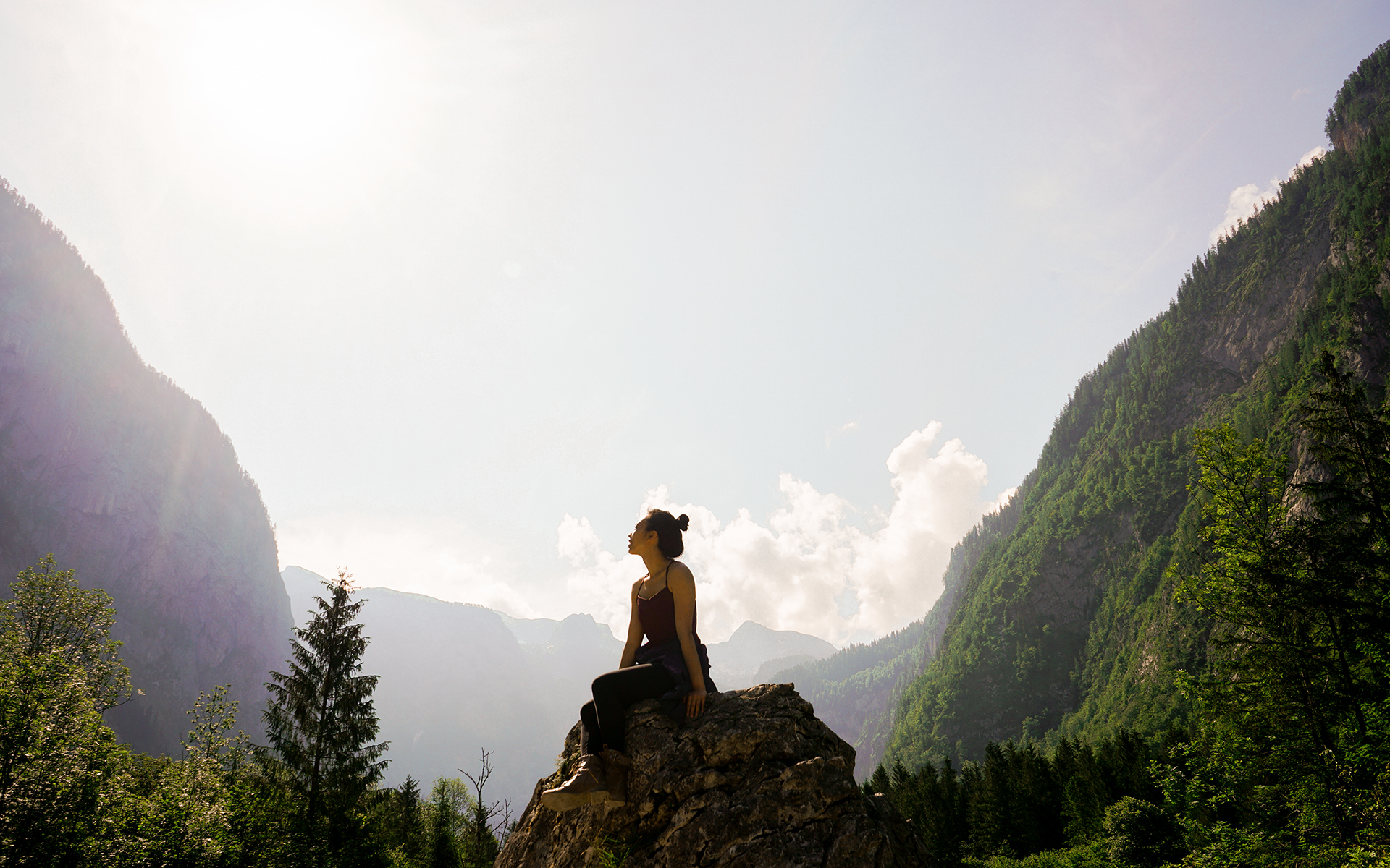 Health benefits of being mindful outdoors