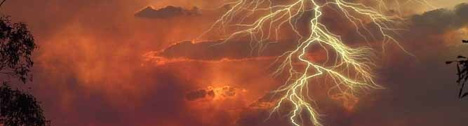 Lightning and the Earth's Electric Field