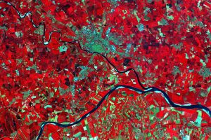A Sentinel-2A image of the Po Valley.