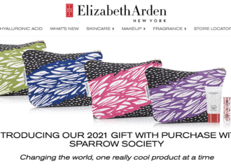 Elizabeth Arden 2021 GWP – Going Global!