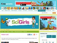 SciGirls: Waste Audit Activity