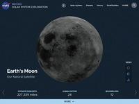 NASA's Earth Moon