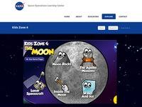 NASA's Kids Zone 4: The Moon