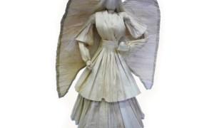 Angel made up of Cornhusk