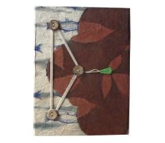 hand made nepali paper diary