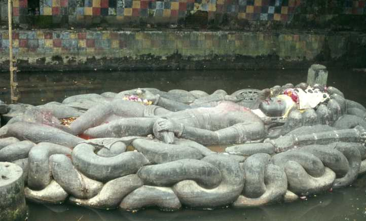 Budhanilkantha-Vishnu