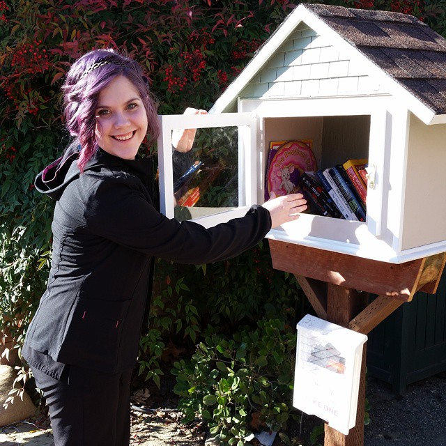 Winters Friends of the Library Little Free Libraries at wfol.org