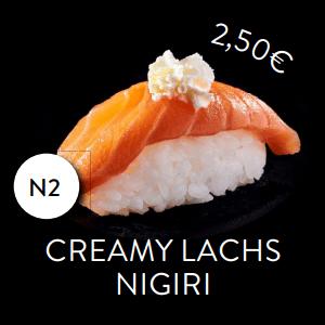 N2 - Nigiri Creamy Lachs