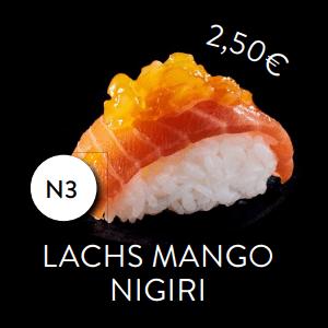 N3 - Nigiri Lachs Mango