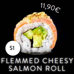 S1 - Roll - Flemmed Cheesy Salmon