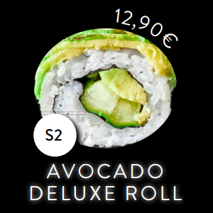 S2 - Roll - Avaocado Deluxe