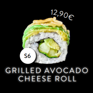 S6 - Roll - Grilled Avocado Cheese