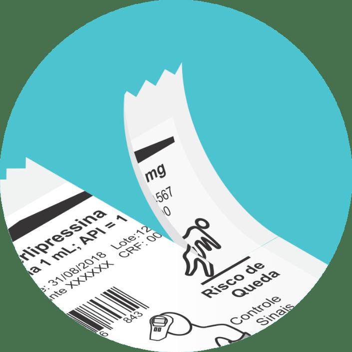 Sistema abre-fácil na embalagem unidose