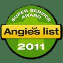 2011 Angie's List Super Service Award
