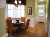staging an eat-in kitchen