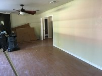 Before Staging - Living Room