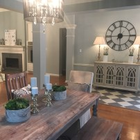 Staging The Nest - Vacant Staging - Dining Entry