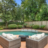 Staging The Nest - Vacant Home Staging - Exterior Backyard Pool