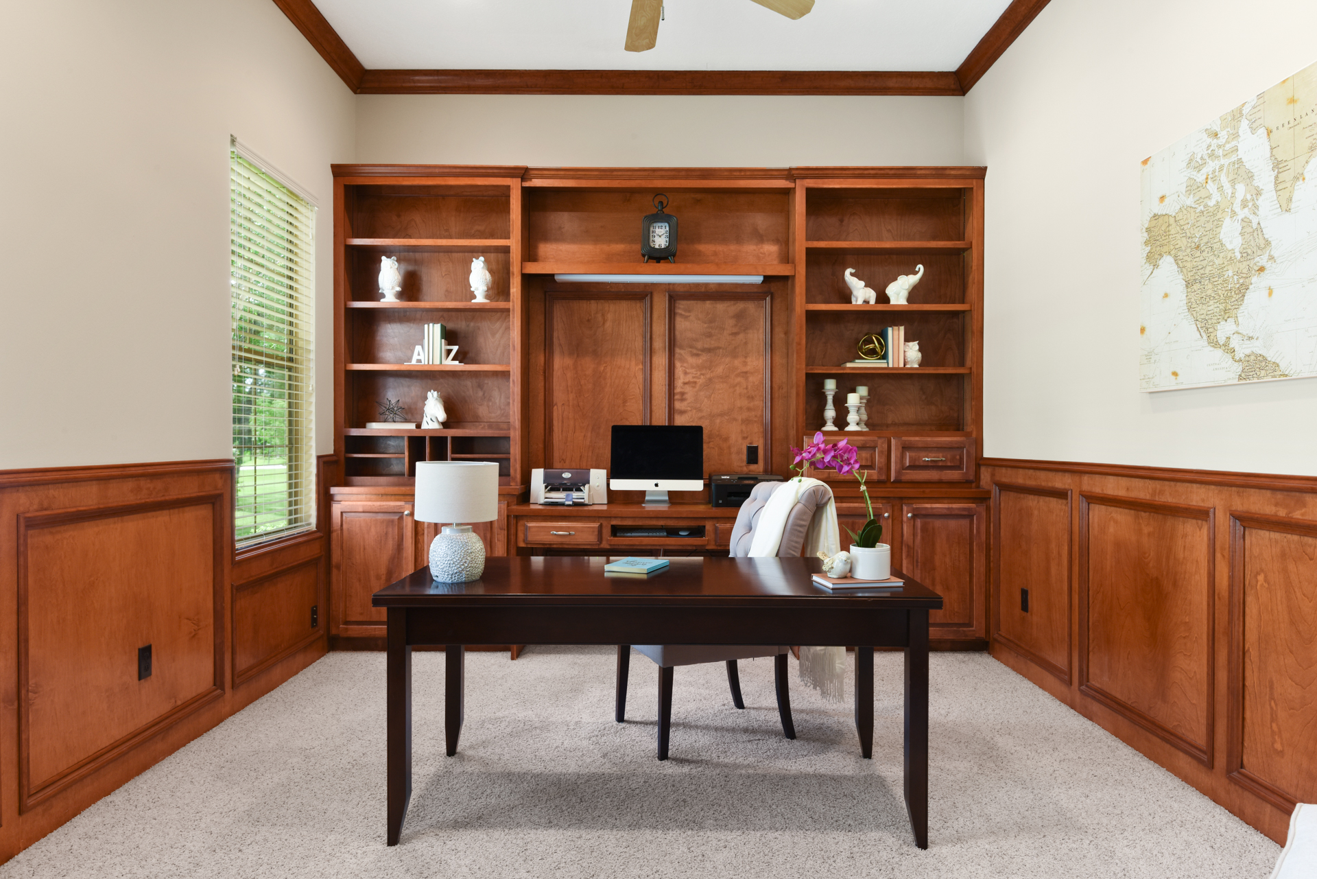 Staging The Nest - Vacant Staging - Study