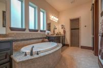 BlueMesa-MasterBath - Staging The Nest - Occupied Home Staging