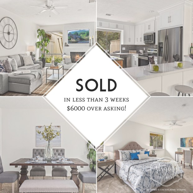 Staging The Nest - Vacant Home Staging - Sold Fast for Top Dollar