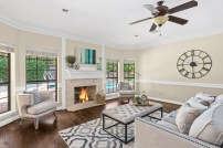 Staging The Nest - Vacant Home Staging - Living Room 1