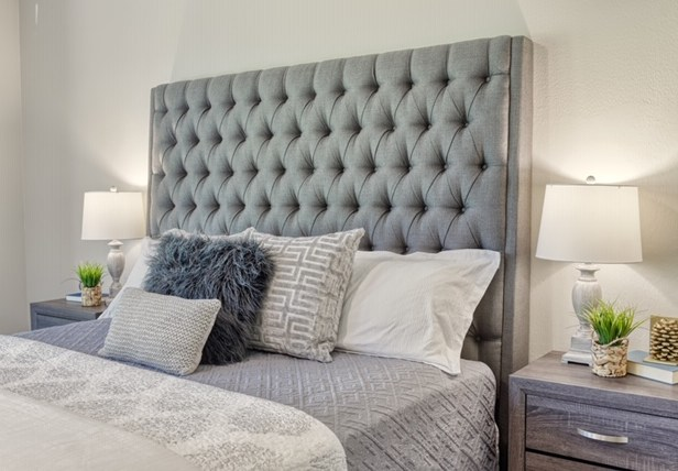Staging The Nest - Vacant Home Staging - Houston - The Woodlands - Master Bedroom
