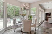 Staging The Nest - Vacant Home Staging - The Woodlands - Houston - Breakfast Area