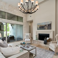 Staging The Nest - Vacant Home Staging - Houston - Living Room