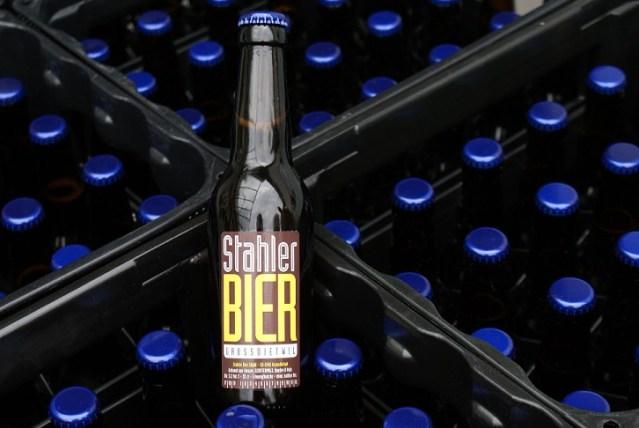 Stahler Bier Flasche