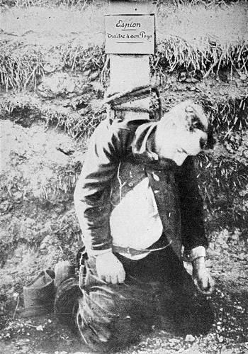 Erster Weltkrieg   Fotos von Hinrichtungen