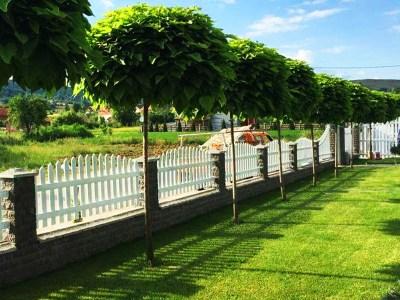 Beispielbild Zaunbau - Zäune, Gartenzäune, Grundstückszäune