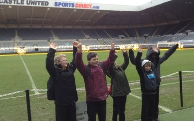 'Lend Me Your Literacy' at St. James' Park