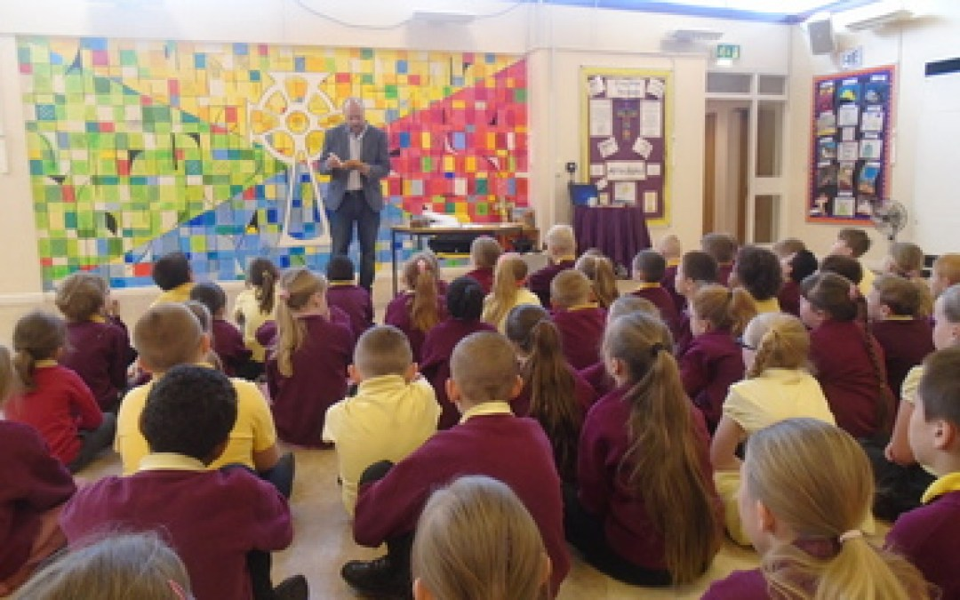Author Visits our School