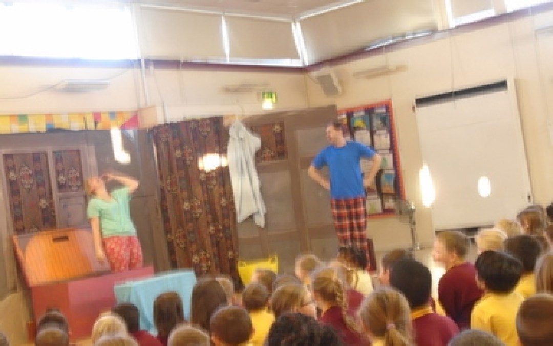 When the pantomime came to us!