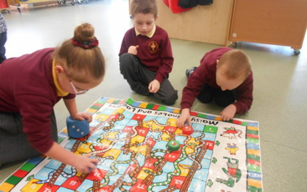 We love snakes and ladders!