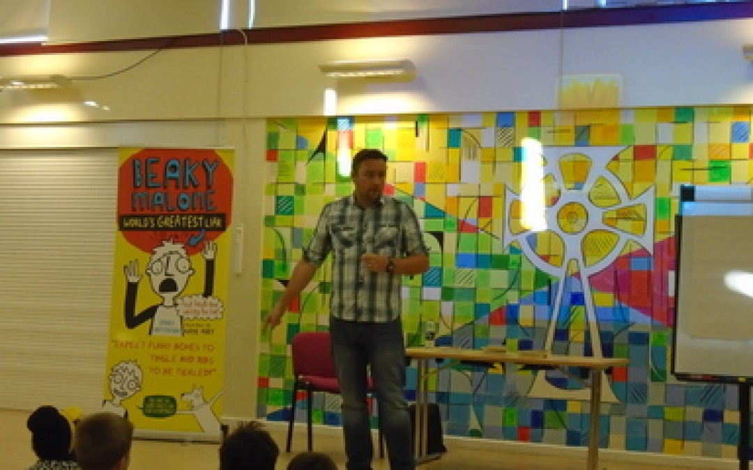 Author Visit- Barry Hutchinson