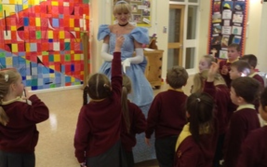 A visit from Cinderella