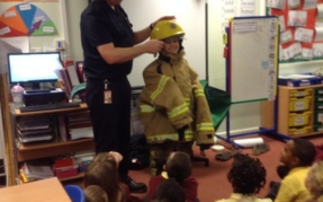 A Firefighter visits Year 2!