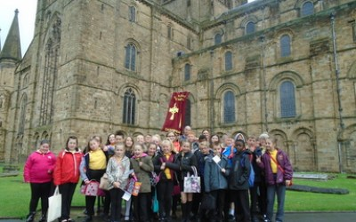 Year 6 Leaver's Service at Durham Cathedral