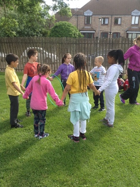 Team Building Fun St Aidan S Church Of England Primary School