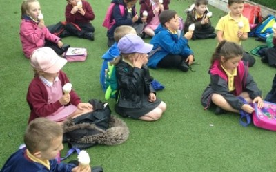 Year One trip to Tynemouth