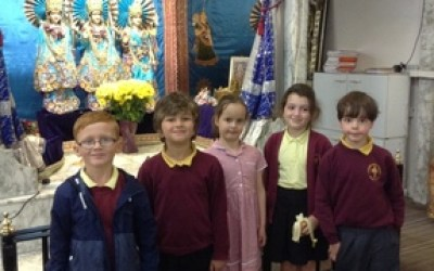 Year 2 Visit to Hindu Temple