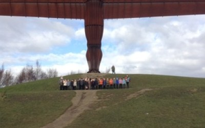 Year 2 celebrates the 20th anniversary of the Angel of the North