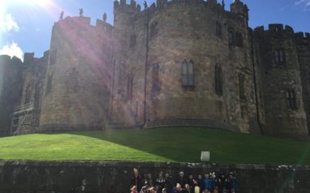 Year 1 Visit Alnwick Castle, Alnwick Treehouse and Bockenfield Holiday Park