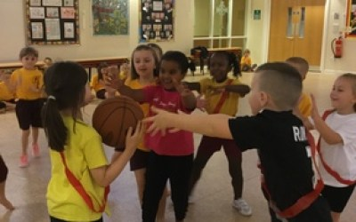 Year 2 Inter-house Bench Ball Competition