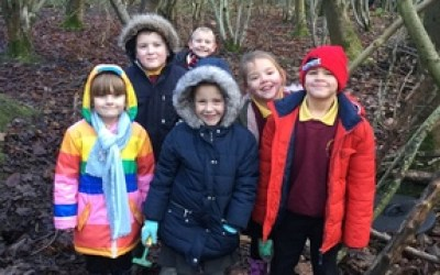 Habitats Workshop at Chopwell Community Woodland