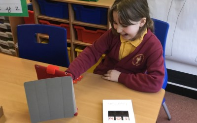 Year 4 Osmo lunchtime club