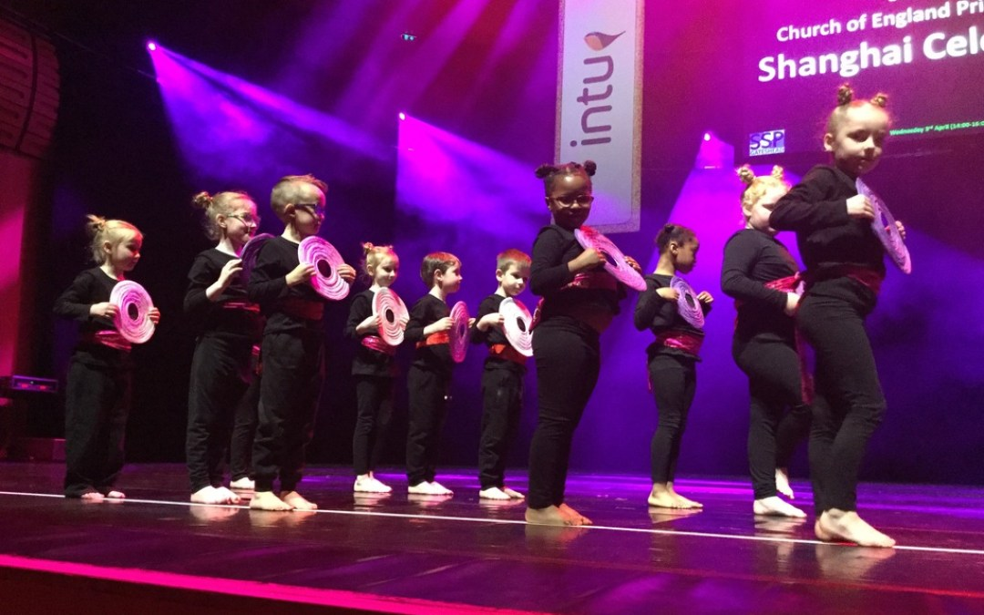 Year 1 Perform at the Dance Festival