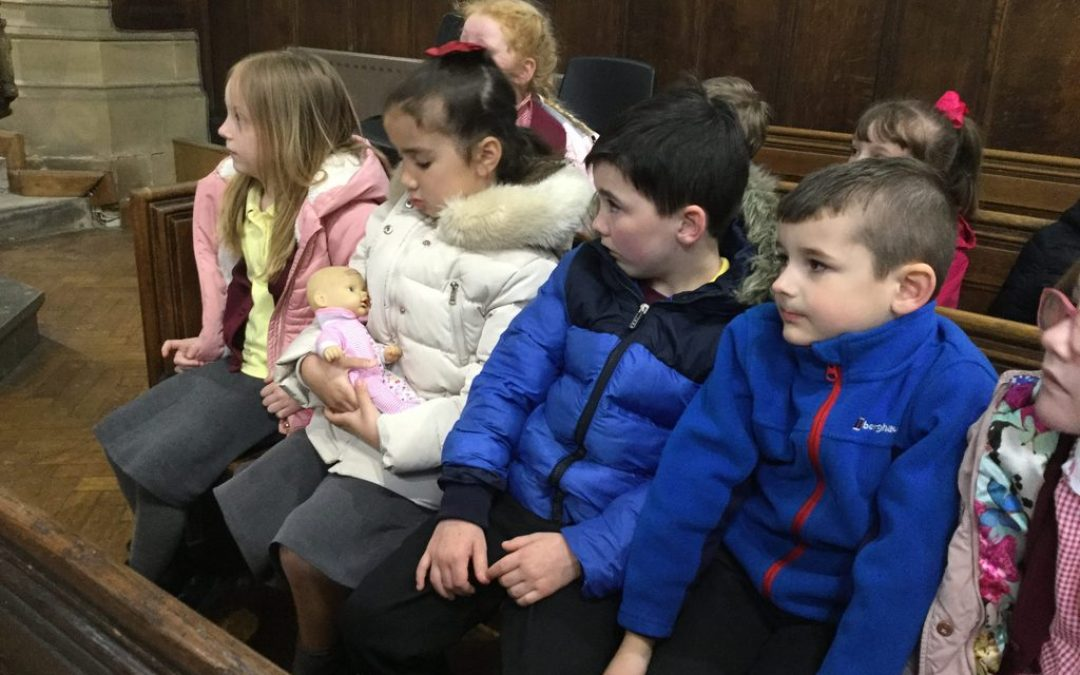 Year 1 Hold a Baptism Service at St Chad's